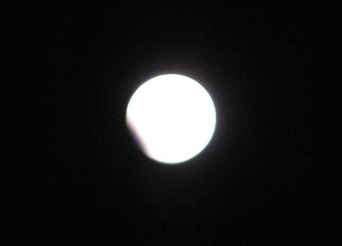 2010年元旦の部分皆既月食