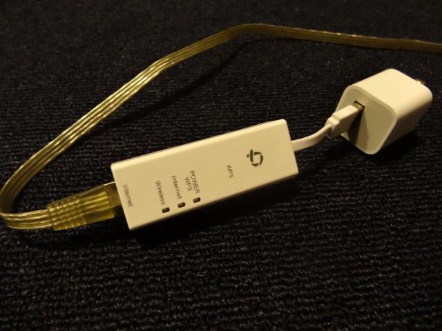 PLANEX 150Mbpsリアルポータブル無線ルータ (ちびファイ2) MZK-UE150N