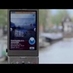 拡張現実(AR技術)を使って、町中の物件情報を検索するデモ