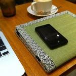 畳素材のiPadケースがすこぶるいい! Tatami-pad