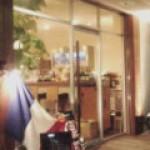 初台坂下のカフェ