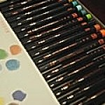 水彩毛筆ペン 彩