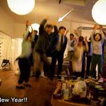 2012年 新年あけましておめでとうございます。今年も空中で。。