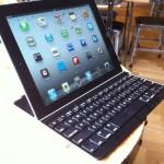 iPadのカバーになる超薄型キーボードが素敵 Logicool Ultrathin Keyboard Cover