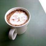 おうちでコーヒーアート