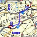 GPSを使わずに地図上にルートを作成