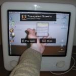モニタを透明にするーTransparent Screens.