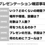 プレゼンテーションシンキング(プレゼン思考)講座 2015〜中編