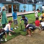 空き地にコンテナと芝生で地域活性。とても可能性を感じるプロジェクト
